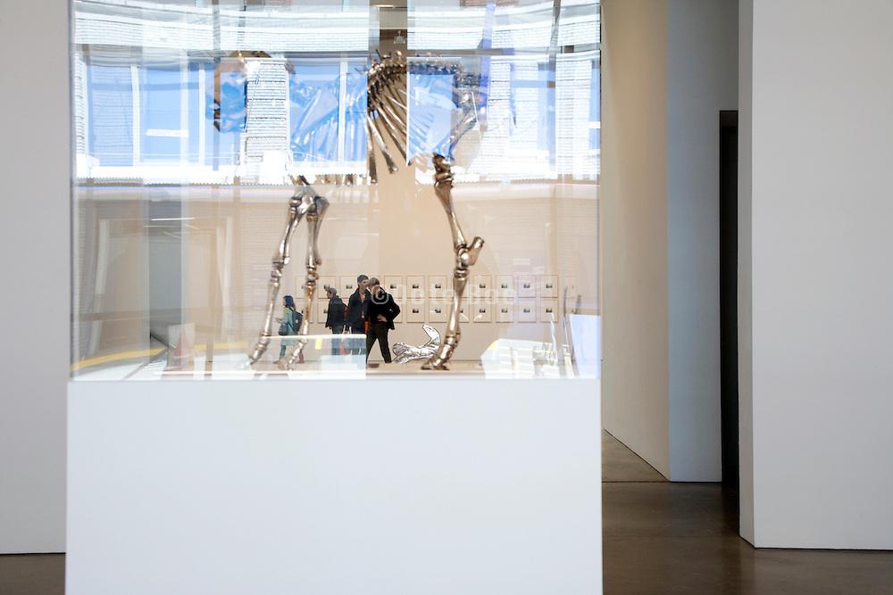 artwork display in the Paula Cooper Gallery sculpture ?False God, 2007? Sherrie Levine