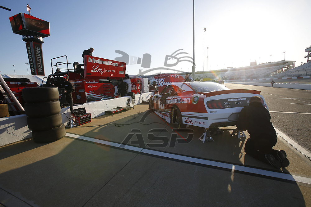 April 20, 2018 - Richmond, Virginia, USA: Ryan Reed (16) gets ready to practice for the ToyotaCare 250 at Richmond Raceway in Richmond, Virginia.