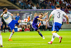 Dino Hotic of NK Maribor during 2nd Leg football match between NK Maribor and FC Chikhura in 2nd Qualifying Round of UEFA Europa League 2018/19, on August 2, 2018 in Ljudski vrt, Maribor, Slovenia. Photo by Ziga Zupan / Sportida