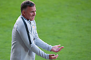 Melbourne City head coach Warren Joyce shows frustration at the Hyundai A-League Round 13 soccer match between Melbourne City FC and Brisbane Roar FC at AAMI Park in VIC, Australia 11th January 2019.
