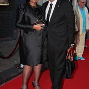 NLD/Utrecht/20110927 - 31 ste NFF-Uitreiking Lezen en Schrijven Film Awards door Prinses Laurentien, John Leerdam en partner