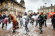 Pillow Fight Queen Victoria Square 20150404