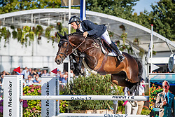 Greve Willem, NED, Opium JW van de Moerhoeve TN<br /> FEI WBFSH Jumping World Breeding Championship for Young Horses<br /> Lanaken 2019<br /> © Hippo Foto - Dirk Caremans<br />  22/09/2019