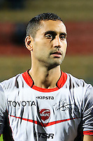 Ahmed Kantari of Valenciennes during the Ligue 2 match between Tours and Valenciennes on October 21, 2016 in Tours, France. (Photo by Eddy Lemaistre/Icon Sport)