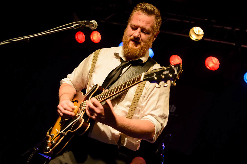 Eric Slim Zahl & South West Swingers @ House of Blues festival, Stavanger, Norway.