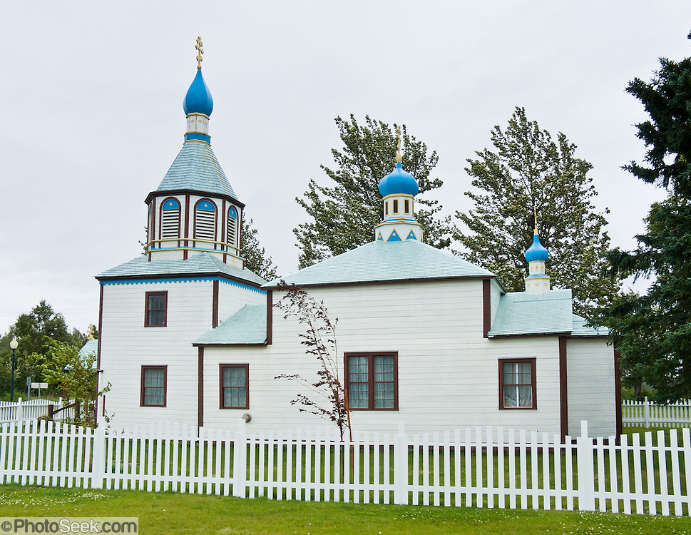 Holy Assumption of the Virgin Mary Russian Orthodox Church was built in 1896 in Kenai, Alaska, USA. It is a  National Historic Landmark, and the oldest standing Orthodox church in Alaska.