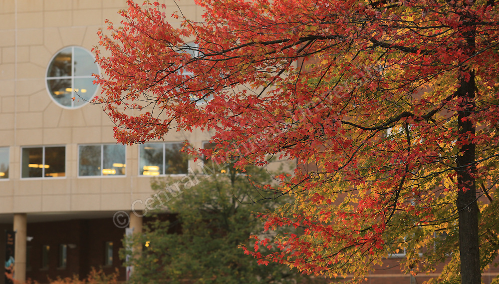 Park Library. Central Michigan University Photo by Steve Jessmore