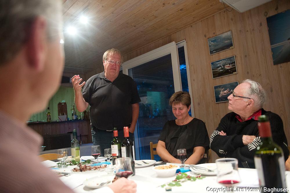 Ib Braes. 85 &aring;rs f&oslash;dselsdag p&aring; Arnborg <br /> Foto: &copy; Lars Horn / Baghuset. <br /> 17.08.2013<br /> Dato: 01.01.12