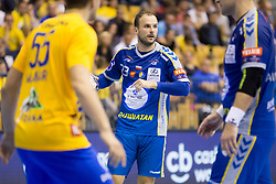 Uros Zorman of PGE Vive Kielce during handball match between RK Celje Pivovarna Lasko and PGE Vive Kielce in Group Phase A+B of VELUX EHF Champions League, on September 30, 2017 in Arena Zlatorog, Celje, Slovenia. Photo by Urban Urbanc / Sportida
