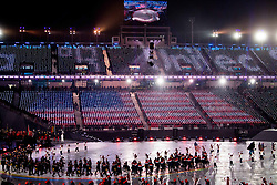March 9, 2018 - Pyeongchang, U.S. - Team United States during the opening ceremony of the 2018 Winter Paralympics on March 9, 2018 in Pyeongchang.  (Credit Image: © Bildbyran/Icon SMI via ZUMA Press)