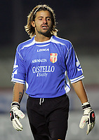 """Storari Marco (Messina)<br /> Italian """"Serie A"""" 2006-07<br /> 14 Oct 2006 (match day 6)<br /> Siena-Messina (3-1)<br /> """"A.Franchi"""" Stadium-Siena-Italy<br /> Photographer Luca Pagliaricci INSIDE"""