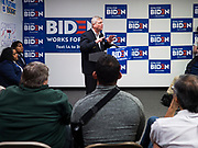 08 JANUARY 2020 - DES MOINES, IOWA: Former Democratic Governor of Iowa (and Secretary of Agriculture for President Obama) TOM VILSACK speaks on behalf of Democratic Presidential candidate and former Vice President Joe Biden. Vice President Biden's surrogates are touring Iowa this week to support Biden's candidacy for the US Presidency. Iowa hosts the first presidential selection event of the 2020 election cycle. The Iowa caucuses are on February 3, 2020.           PHOTO BY JACK KURTZ