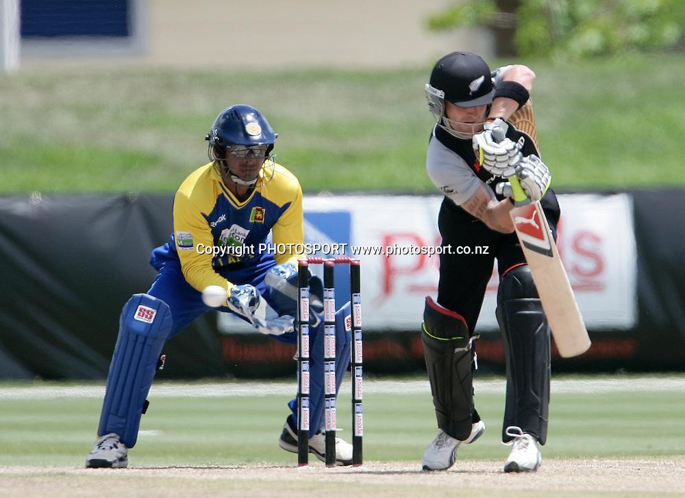 New Zealand Black Caps v Sri Lanka, international exhibition Twenty 20 cricket match, Central Broward Regional Park, Florida, United States of America. 23 May 2010. Photo: Barry Bland/PHOTOSPORT