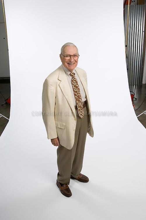 Kenneth Arrow, Stanford economics professor. Nobel Prize winner in economics in 1972.