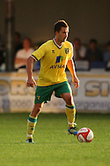 Adam Drury of Norwich City during a pre season friendly at New Lodge Stadium, Billericay...Picture by Paul Chesterton/Focus Images Ltd.  07904 640267.4/8/11