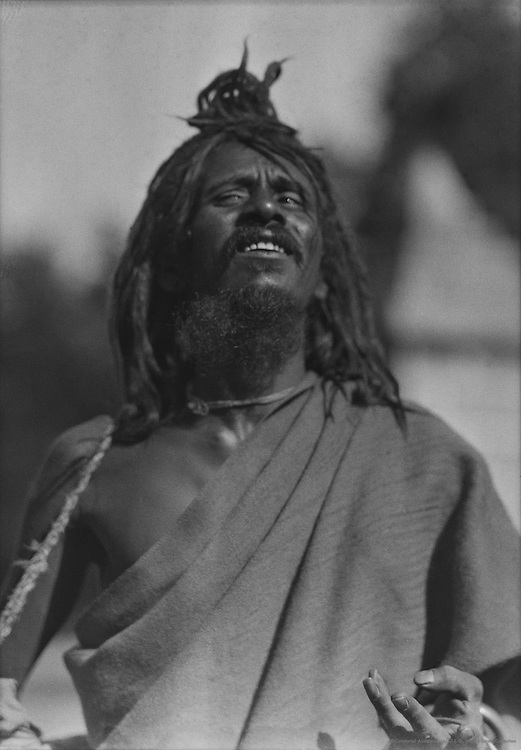 Fakir, Benares, India, 1929