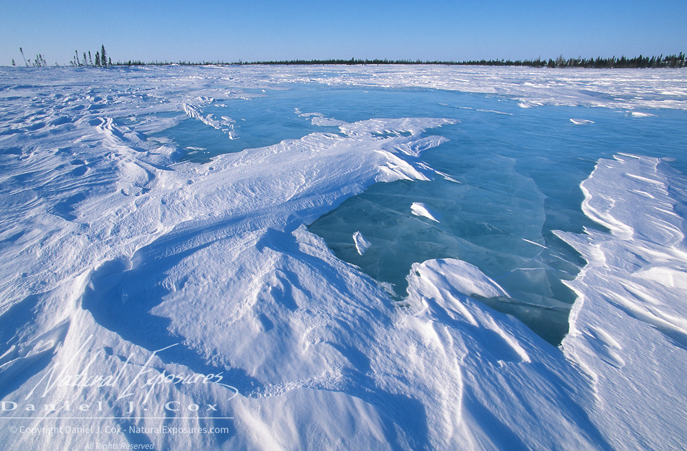 Wapusk National Park during springtime. Manitoba, Canada