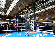 David Haye and Tony Bellew Public Workout - 02 May 2018