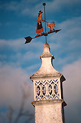 PORTUGAL, ALGARVE COAST Olháo, rooftop weathervane