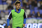 Reading's Lucas Piazonwarms up before the Sky Bet Championship match between Reading and Ipswich Town at the Madejski Stadium, Reading, England on 11 September 2015. Photo by Mark Davies.