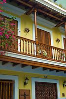 Colonial balconies at Cruz Street