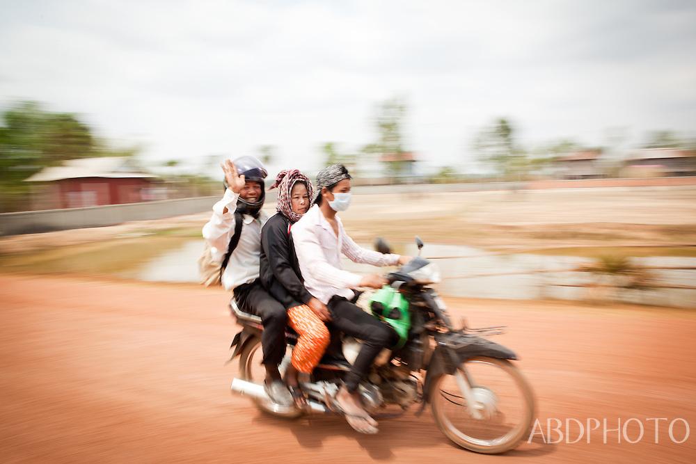 Svay Reing & Kratie Cambodia