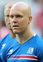 Uefa - World Cup Fifa Russia 2018 Qualifier / <br /> Iceland National Team - Preview Set - <br /> Emil Hallfredsson