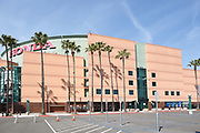 East Side Parking Lot at The Honda Center