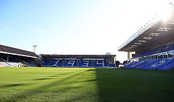 A general view of the Weston Homes Stadium, home of Peterborough United - Mandatory by-line: Joe Dent/JMP - 28/09/2019 - FOOTBALL - Weston Homes Stadium - Peterborough, England - Peterborough United v AFC Wimbledon - Sky Bet League One