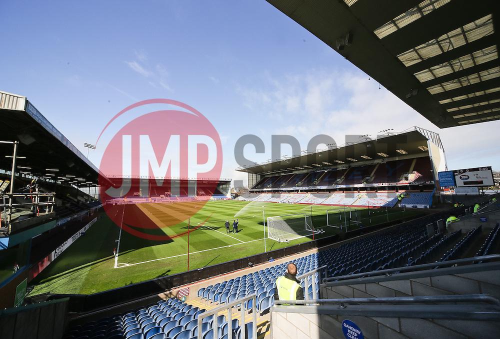 A general view of Turf Moor ahead of the Barclays Premier League clash between Burnley and Tottenham Hotspur - Photo mandatory by-line: Matt McNulty/JMP - Mobile: 07966 386802 - 05/04/2015 - SPORT - Football - Burnley - Turf Moor - Burnley v Tottenham Hotspur - Barclays Premier League