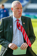 Hamilton Academicals Head Coach Brian Rice heads down the tunnel ahead of the Ladbrokes Scottish Premiership match between St Mirren and Hamilton Academical FC at the Paisley 2021 Stadium, St Mirren, Scotland on 13 May 2019.
