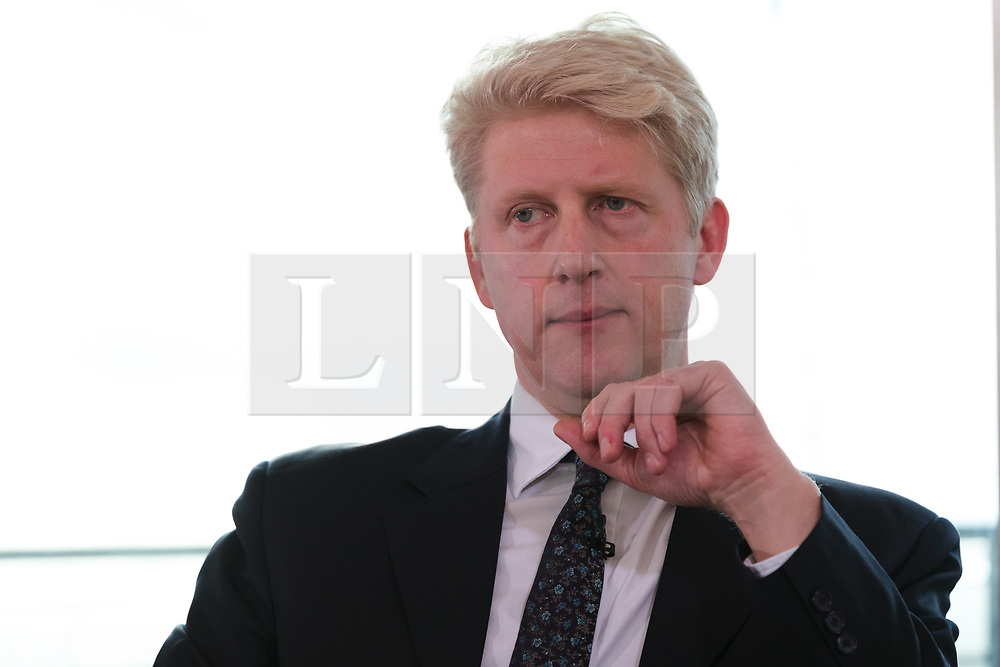 © Licensed to London News Pictures. 29/11/2018. London, UK.  Jo Johnson MP speaking on developments in the Brexit debate at a People's Vote Campaign event held at the Southbank Centre in London.  Photo credit: Vickie Flores/LNP