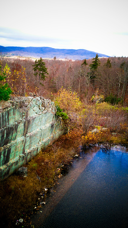 The Soapstone Quarry near Chester, Vermont