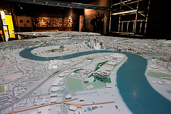 UK ENGLAND LONDON 20APR15 - New London Architecture scale model of all built and approved buildings in London on display in The Building Centre, central London.<br /> <br /> jre/Photo by Jiri Rezac<br /> <br /> © Jiri Rezac 2015