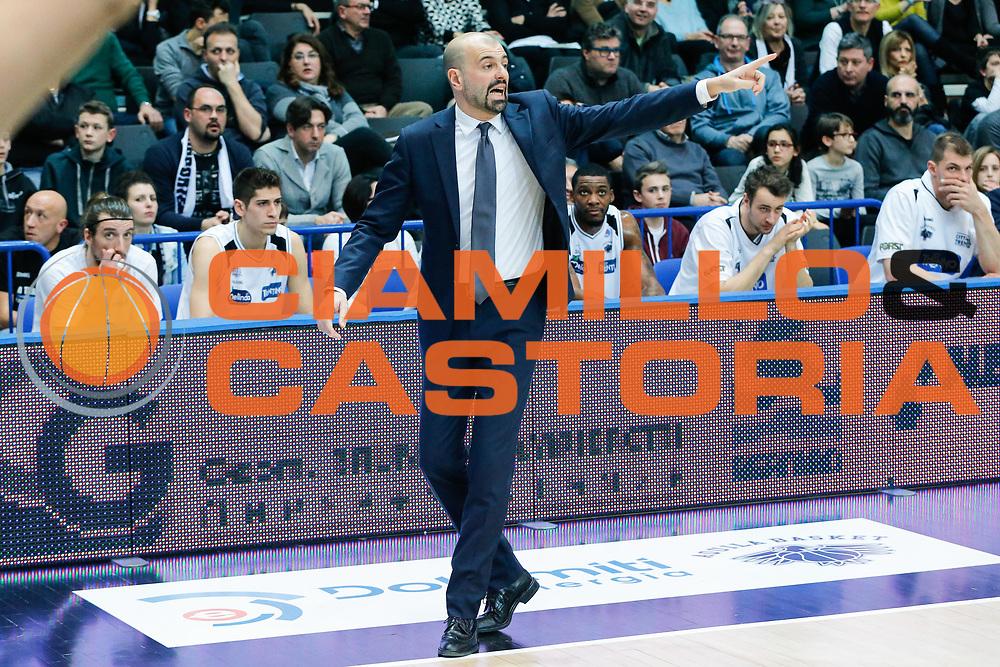 DESCRIZIONE : Trento Lega A 2015-16 Dolomiti Energia Trentino Pasta Reggia Caserta<br /> GIOCATORE : Maurizio Buscaglia<br /> CATEGORIA : Ritratto<br /> SQUADRA : Dolomiti Energia Trentino Pasta Reggia Caserta<br /> EVENTO : Campionato Lega A 2015-2016<br /> GARA : Dolomiti Energia Trentino Pasta Reggia Caserta<br /> DATA : 03/01/2016<br /> SPORT : Pallacanestro <br /> AUTORE : Agenzia Ciamillo-Castoria/G. Contessa<br /> Galleria : Lega Basket A 2015-2016 <br /> Fotonotizia : Trento Lega A 2015-16 Dolomiti Energia Trentino Pasta Reggia Caserta