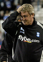 Photo: Glyn Thomas.<br />Birmingham City v Manchester United. Carling Cup.<br />20/12/2005.<br /> Birmingham's manager Steve Bruce scratches his head.