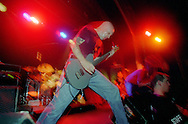 Guitarist Stephen Egerton performs in Detroit, MI on July 29, 2000. Egerton is a member of the Descendents and All. The Descendents are widely accepted as punk pioneers and for creating the style of pop-punk.