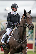QUALITY PURDEY ridden by Lauren Shannon during the final jumping event at Bramham International Horse Trials 2016 at  at Bramham Park, Bramham, United Kingdom on 12 June 2016. Photo by Mark P Doherty.