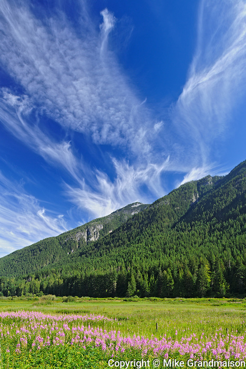 Mountains of the Cascade Range, Souteast of Hope, British Columbia, Canada