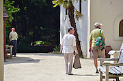 Nederland, Heilig Landstichting, 1-8-2014Museumpark Orientalis viert het Laat-Romeins Festival. Een gelegenheid in het teken van de Romeinen. Romeinse re-enactors uit West-Europa, Spanje, Duitsland, Frankrijk, Nederland en Engeland, beleven het leven in de nadagen van het Romeinse Rijk. Zij laten zien wat het Laat-Romeinse leger was. Heilig Landstichting is een dorp in de gemeente Groesbeek, Gelderland en ligt tegen Nijmegen aan. Het dorp is genoemd naar het hier gelegen Museumpark Orientalis, dat voorheen Bijbels openluchtmuseum Heilig Land Stichting heette. tegenwoordig richt het zich ook op andere godsdiensten, zoals de islam. De sultan van Oman heeft een arabisch dorp aan het museum geschonken, compleet met moskee.FOTO: FLIP FRANSSEN/ HOLLANDSE HOOGTE