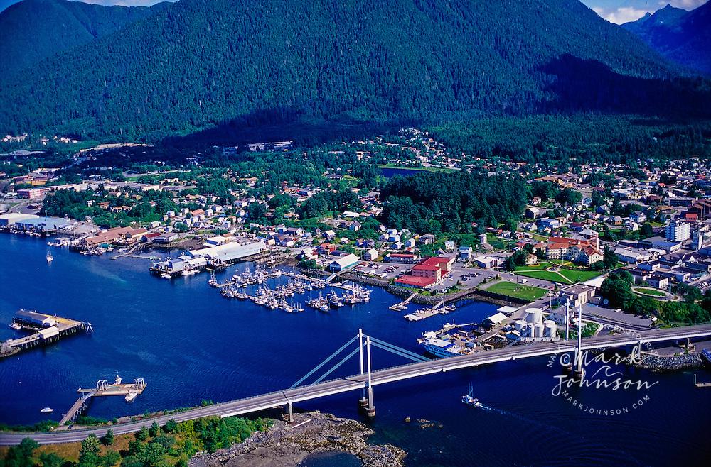 Sitka, Alaska, USA --- Aerial View of Sitka, Alaska