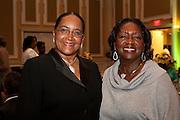 "Deborah McDavis at ""Celebrating Black Heritage at Ohio University Through the Decades"" at the Black Alumni Reunion Gala in Baker Center on September 28, 2013."