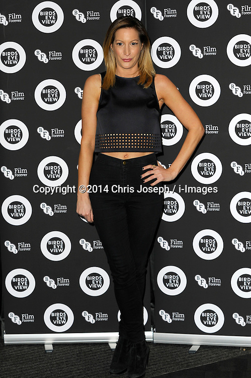 """Laura Pradelska attends the Gala Screening of """"Birds Eye View"""" at BFI, Southbank,  London, United Kingdom. Tuesday, 8th April 2014. Picture by Chris Joseph / i-Images"""