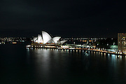 Sydney, Australia Opera House at night