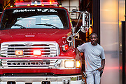 Patrick runs the Newbern Volunteer Fire Department and is always on call to help anyone in the community.