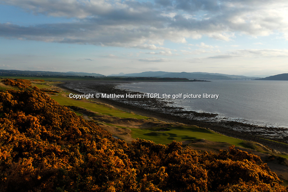 Castle Stuart, left to right 1st par 4 / 10th par 4 / 11th par 3,Inverness,Highlands,Scotland.