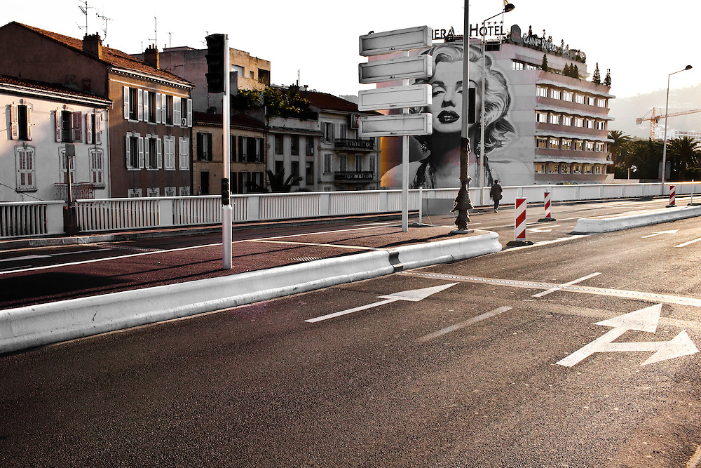 Two weeks before the cannes film festival. What's going on in the city?