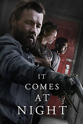 RELEASE DATE: June 9, 2017 TITLE:  It Comes At Night STUDIO: A24 DIRECTOR: Trey Edward Shults PLOT: Secure within a desolate home as an unnatural threat terrorizes the world, a man has established a tenuous domestic order with his wife and son. Then a desperate young family arrives seeking refuge. STARRING: JOEL EDGERTON as Paul. (Credit Image: © A24/Entertainment Pictures/ZUMAPRESS.com)