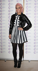 AMELIA LILY attends the James' Jog-on to Cancer charity fundraiser, Kensington Roof Gardens, April 3, 2013 in London, England. Photo by: i-Images..