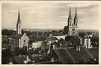 Zagreb.  <br /> <br /> ImpresumZagreb : Naklada: Orient, [između 1930 i 1940].<br /> Materijalni opis1 razglednica : tisak ; 9 x 13,9 cm.<br /> NakladnikNaklada Orient<br /> Vrstavizualna građa • razglednice<br /> ZbirkaGrafička zbirka NSK • Zbirka razglednica<br /> ProjektPozdrav iz Hrvatske<br /> Formatimage/jpeg<br /> PredmetZagreb –– Kaptol<br /> Katedrala Uznesenja Marijina (Zagreb)<br /> Jezikhrvatski<br /> SignaturaRZG-KAP-77<br /> Obuhvat(vremenski)20. stoljeće<br /> NapomenaRazglednica nije putovala.<br /> PravaJavno dobro<br /> Identifikatori000955769<br /> NBN.HRNBN: urn:nbn:hr:238:495791 <br /> <br /> Izvor: Digitalne zbirke Nacionalne i sveučilišne knjižnice u Zagrebu